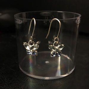 Jewelry - Butterfly drop earrings